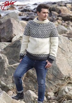 Men's sweater in our Raggi.