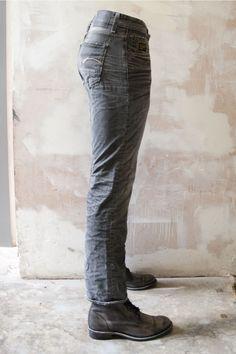 G Star Jeans: Porter Straight Grey