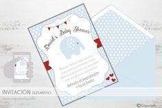 Invitación infantil para fiesta, cumpleaños, babyshower, eventos... original e imprimible