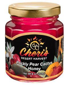 Cheri's Prickly Pear Cactus Honey- 5 oz - Sweet Cacti - Southwest Desert Spread- Southwestern Flavor Cheri's http://www.amazon.com/dp/B000N56UII/ref=cm_sw_r_pi_dp_eOs-ub1YJKSV4