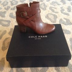 Buckle Boots, Cole Haan Shoes, Fashion Tips, Fashion Design, Fashion Trends, Bootie Boots, Booty, Brand New