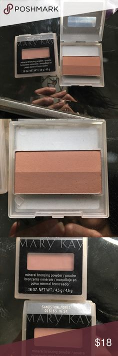 Mary Kay Mineral bronzing powder Brand new. Sandstone. 2 in stock. Selling for $15 a piece. Mary Kay Makeup Bronzer
