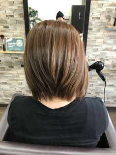 前下がりショートボブ - 24時間いつでもWEB予約OK!ヘアスタイル10万点以上掲載!お気に入りの髪型、人気のヘアスタイルを探すならKirei Style[キレイスタイル]で。