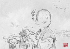 らくがき23 #stranja tsunenori saito sword of the stranger