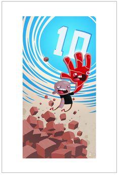 Steakfist's Escape Into Dimension 10 by Jhonen Vasquez