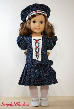 American Girl Doll Clothing. Edwardian by Simply18Inches