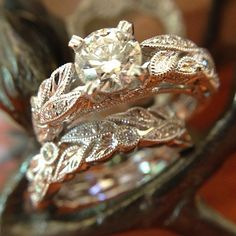pictures of wedding rings from hawaii