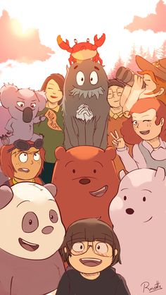 Yesterday was WBB's first anniversary, so I decided to draw something special for this show. Thanks We Bare Bears for all the episodes and the one. We Bare Bears - Anniversary Cute Panda Wallpaper, Bear Wallpaper, Cute Disney Wallpaper, Cute Wallpaper Backgrounds, Wallpaper Iphone Cute, Abstract Backgrounds, We Bare Bears Wallpapers, Panda Wallpapers, Cute Cartoon Wallpapers