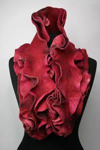 Dagmar Binder Nuno Felting, Needle Felting, Unusual Things, Handmade Felt, Textile Artists, Art Techniques, Binder, Wearable Art, Special Gifts