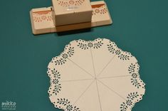 Create your own doilies without Martha Stewart's Circle Edge Punch