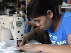 Consumers are increasingly demanding fairer conditions for garment workers across the world. picture: Hoang Dinh/AFP