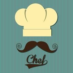 Placa Decorativa | Chef Mustache