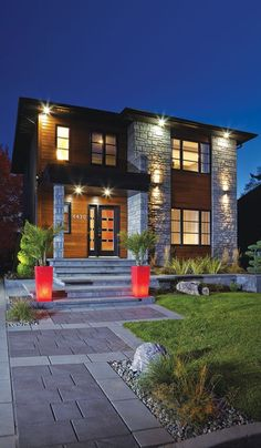New House Front Yard Modern 67 Ideas