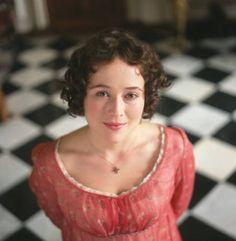 Elizabeth Bennet ~ My favorite little pink dress from Pride and Prejudice! (1995)