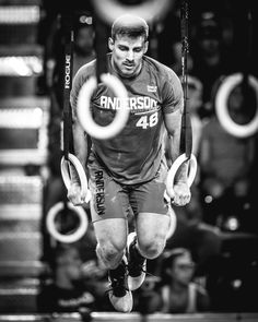 Alex Anderson is the most consistent CrossFit Games qualifier from the Anderson family, with three appearances under his belt. His dad and two brothers have been each been to the Games once. Photo: FL Sports Guy