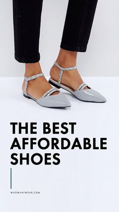 The best affordable shoes, starting at $16
