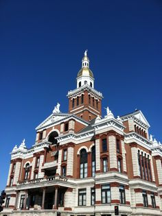 The courthouse in Dubuque, Iowa