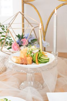 Behind-the-Scenes: Serenity and Rose Quartz Wedding Inspiration Styled Shoot