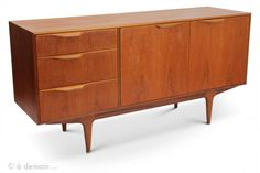 1970s teak McINTOSH sideboard from Scotland for sale on www.design-only.com