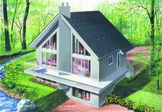 Main image for house plan # 4154 $105000 median price to build