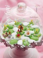 Libri Libro Idee Per Decorare I Confetti € 28,50 Garden Animals, Clay Figurine, Confetti, Trees To Plant, Truffles, Cake Toppers, Panna Cotta, Polymer Clay, Birthday Cake