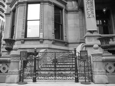 Restoration of decorative bronze gate for the Driehaus Museum (Chicago, IL)