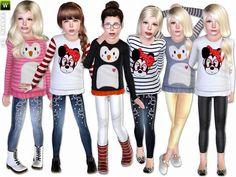 lillka's Fresh  Cool - Set  Super cute winter set for your sim children
