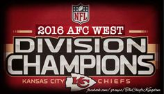 Afc division champs 2016 #chiefs