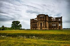 Lyveden is an unfinished Elizabethan house which has remained unchanged for over 400 years. It was abandoned in 1605 when its creator Sir Thomas Tresham died and his son became embroiled in the Catholic gunpowder plot. Oundle, England