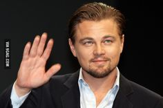 Leo, if you see this, you're waving at yourself.