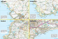 Poldark's Cornish Film Locations - back of the map Poldark, Filming Locations, Weekend Getaways, Map, Location Map, Maps