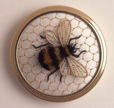 Bumble Bee stumpwork kit