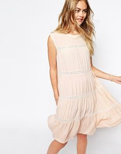 Little White Lies Dress With Daisy Inserts