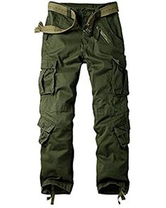 AKARMY Men's Cotton Casual Military Army Camo Combat Work Cargo Pants with 8 Pockets at Amazon Men's Clothing store Camouflage Cargo Pants, Military Camouflage, Army Camo, Military Army, Womens Tactical Pants, Tactical Cargo Pants, Cargo Pants Women, Pants For Women, Mens Cargo