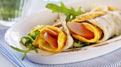 MatPrat - Omelett i lompe