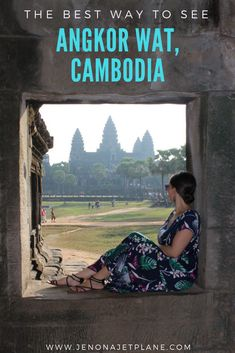 Looking for the best way to see Angkor Wat, Cambodia? Find out how to hit highlights like the Bayan Temple and Tomb Raider Temple in one day. Pin to your travel board for inspiration! #cambodia #angkorwat #traveltips #travelblog