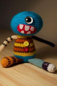 Buster Imes Crochet Toy by BreakfastJones on Etsy, $35.00
