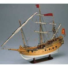 Wooden Ship Model Kits, Model Ship Kits, Model Sailing Ships, Sailing Boat, Hms Bounty, Model Warships, Model Boat Plans, Boat Kits, Viking Ship