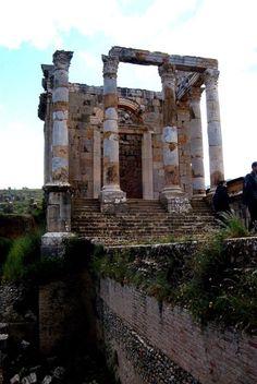 Roman Temple of Gens Septimia at Djémila, Algeria