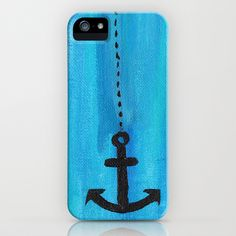 Let LOVE be your Anchor & HOPE be your Sail iPhone & iPod Case by Cassie LaRossa - $35.00