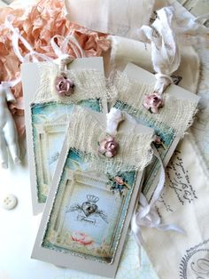 These tags are so soft and pretty.