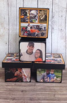 Custom made Personalized boxes with photo's