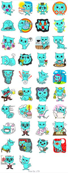 #Blue Cat by Kangaroo #view #Medialogist