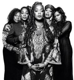 The daughters of Hajj Malik El Shabazz, Malcolm X, and Hajja Dr. Betty El Shabazz.