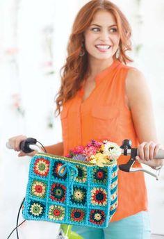 """Botanical Baske"" in March/April 2013 Crochet Today!"