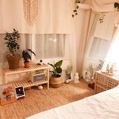 Room Goals - Bright Idea - Home, Room, Furniture and Garden Design Ideas Room Ideas Bedroom, Small Room Bedroom, Bedroom Decor, Apartment Interior, Room Interior, Aesthetic Room Decor, Minimalist Room, Room Goals, Dream Rooms