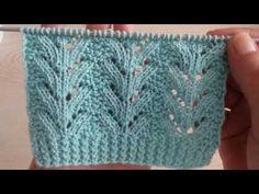 Ajurlu örgü modellerinin en sevileni /Yelek Modelleri / knitting pattern / Strickmuster - YouTube Knitting Stiches, Knitting Videos, Baby Knitting Patterns, Hand Knitting, Knitted Baby Clothes, Cross Stitch Art, Blanket, Crochet, Lace