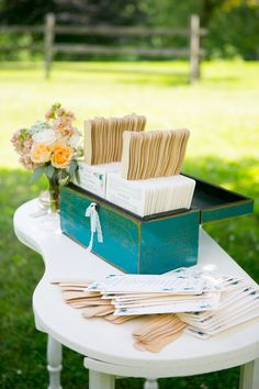 Outdoor Pennsylvania Wedding with Garden Details