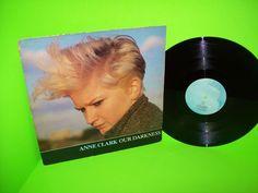 "Anne Clark – Our Darkness 1984 Vintage Vinyl 12"" Record SynthPop DarkWave RARE #1980sSynthPopElectronicaGothicDarkwave"