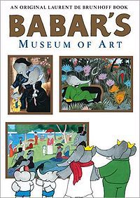 Babar's Museum Of Art and other good art books for kids